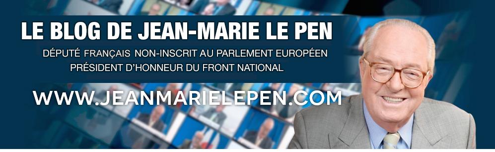 Journal de bord de Jean-Marie Le Pen. Le retour ! Jeanmarielepenbannieresite